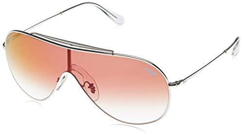 Ray-Ban Unisex-Erwachsene 0RB3597 003/V0 33 Sonnenbrille, Silber (Silver)
