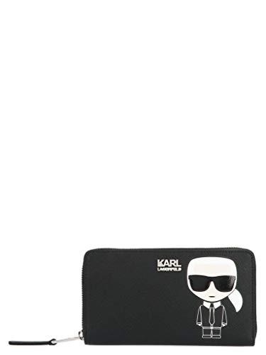 Luxury Fashion | Karl Lagerfeld Dames 20KW201W3203BLACK Zwart Polyurethaan Portemonnees | Lente-zomer 20