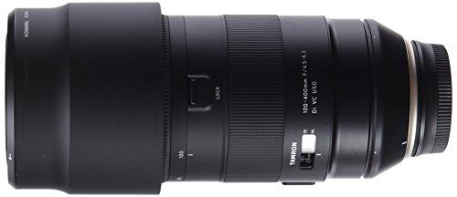 Tamron T80201 - Objetivo Digital con Distancia Focal Variable para Nikon (100-400 F/4.5-6.3, estabilizador de Imagen VC de 4 Pasos, Distancia mínima de Enfoque de 1.5 m) - Kit con Filtro 67 mm, Negro
