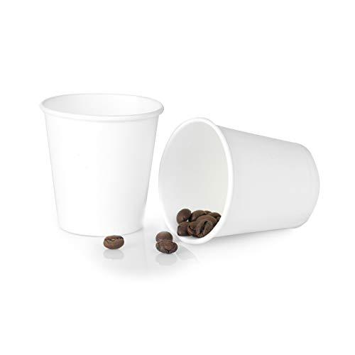 100/200/300/500/1000/2000 PCS 80ml Tazzine Caffe Bicchierini Caffe Bicchieri Carta Biodegradabile Bicchiere Compostabile (300)