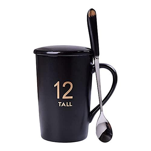 CGDX Taza de café de porcelana con forma de rey y reina para parejas, tazas de café, tazas de té, regalo perfecto para bodas, novios de compromiso, aniversario, parejas, cumpleaños, regalos de despe