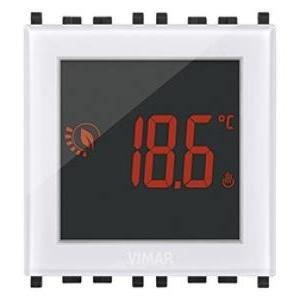 Termostato Touch 2m 120–230V Blanco Vimar de pared