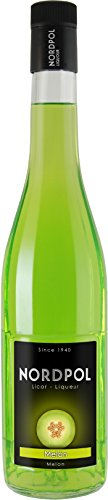 """Melonenlikör \""""Nordpol\"""" – spanischer Likör mit 18{dfddba8be8d9bff2c42eb9088d2626bf78557223cc114544932404906f476611} Melone – perfekt pur oder für einen Cocktail"""