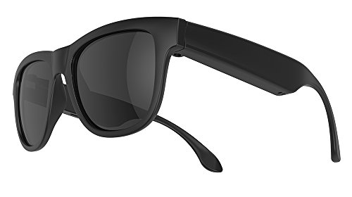 Bone Conduction Polarized Sunglasses (Black)
