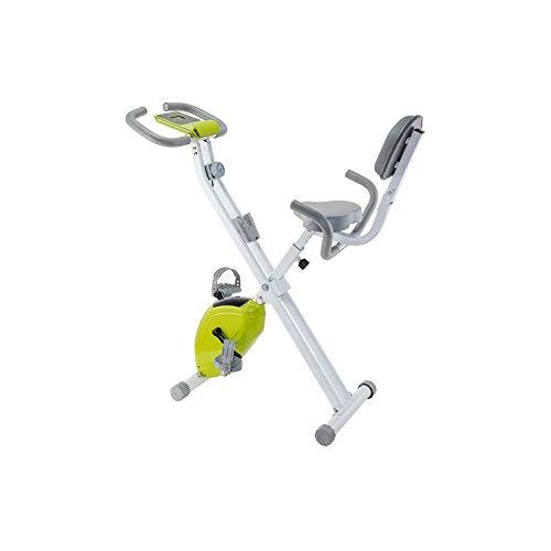 KDKDA Bicicleta estática, Cubierta Ciclo de la Bici, Bicicleta estática magnética Tranquila Resistencia silenciosa for Home Cardio Entrenamiento Pesado del Volante y cómodo cojín de Asiento