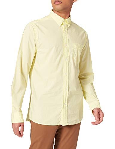 GANT D2.reg Sunfaded Ut BD Camisa, Amarillo Claro (Sunny Lime), XXL para Hombre