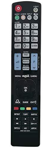 ALLIMITY AKB72914004 Sub AKB72914208 Control Remoto reemplazado por LG TV 32LE5500 37LE5500 55LE5500 47LE5500 42LE5500 42LE8500 47LE8500 55LE8500 32LE7500 37LE7500 42LE7500 47LE7500 55LE7500