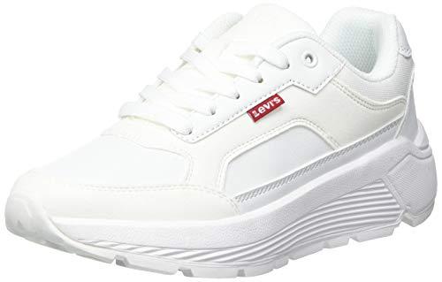 Levis KESTERSON S, Zapatillas Mujer, Brilliant White, 38 EU