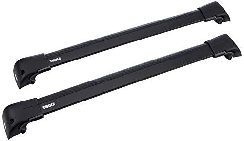 Thule 959220 Wingbar Edge Fixpoint/Flushrail, Nero, M, 2 pezzi