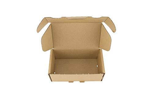 50 Stück Faltkarton Faltschachtel Karton Geschenkbox Geschenkschachtel 120x70x45mm für Schmuck Kleinteile Versandhandel Adventskalender UVM.