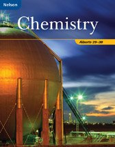 Nelson Chemistry: Alberta 20 30