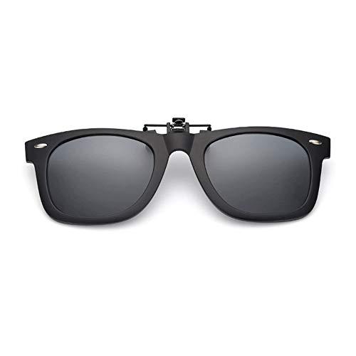 YUNCAT Gafas de Sol Polarizadas Clip Lentes de Espejo de Hombre Mujer Unisex Deportes para conducción y al aire libre