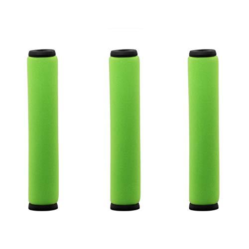 FBGood Staubsauger Ersatzteile, Universal Hocheffizienten Reinigung Swerkzeugsätze Kompatibel mit Dyson Gtech AirRam Mk2 K9 Staubsauger Zubehör (3 Stück Waschbar Grün Filter)