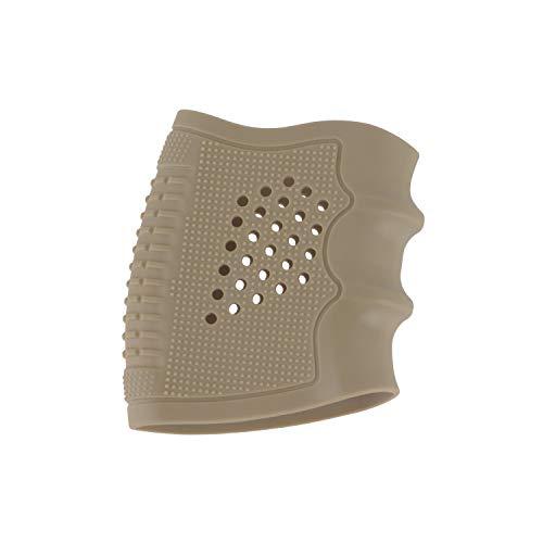 ToopMount Grip Glove Holster Funda de Goma para Pistola Pistolas Antideslizantes Airsoft Holster para Glock 17/19/20/21/22/23/25/31/32/34/35/37/38, M92 (Khaki)