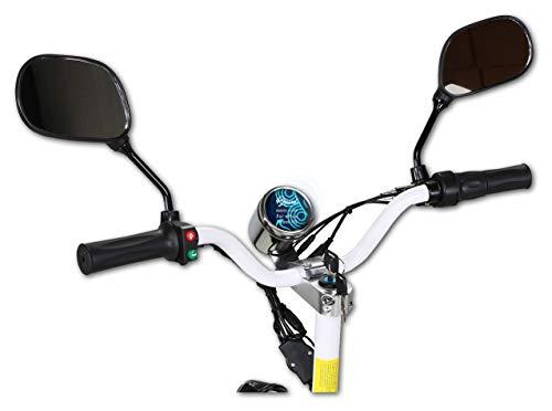 Bruni Protecteur d'écran Compatible avec eFlux Street 40 Film Protecteur, Cristal Clair Écran Protecteur (2X)