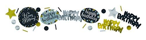 Amscan International 9901180 34 g Celebration Confettis (Lot de 3)