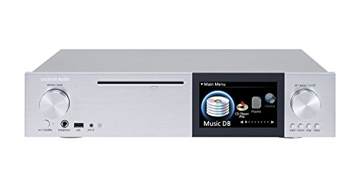 Cocktail Audio X40 All-in-One Musikserver - Streamer - CD Ripper - Vorverstärker - silber
