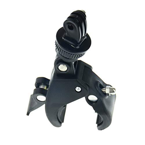 babysbreath17 Fahrrad-Fahrrad-Lenkerschelle Halterung Stativ Motorradhalterung Schraubclip Stative Ersatz für Gopro6 / 04.05 schwarz 1