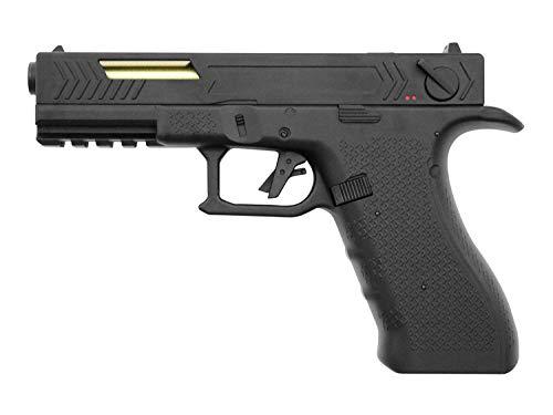 Pistola Airsoft G18 Custom Cyma-CM131S / Plástico de Alta Resistencia y Metal/Color Negro/Eléctrico (0,5 Julios) / Semiautomático/Lipo-Mossfet