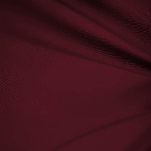"""Burgundy 60"""" Wide Premium Cotton Blend Broadcloth Fabric by The Yard (FB)"""