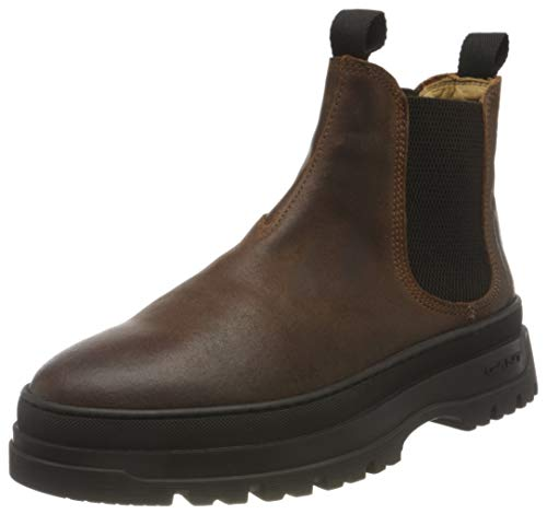 GANT FOOTWEAR Herren ST Grip Chelsea-Stiefel, Cognac, 46 EU