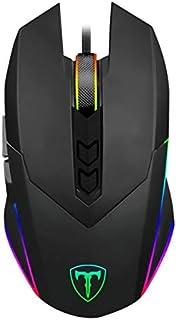 Mouse Gamer T-Dagger Lance Corporal Preto RGB T-TGM107