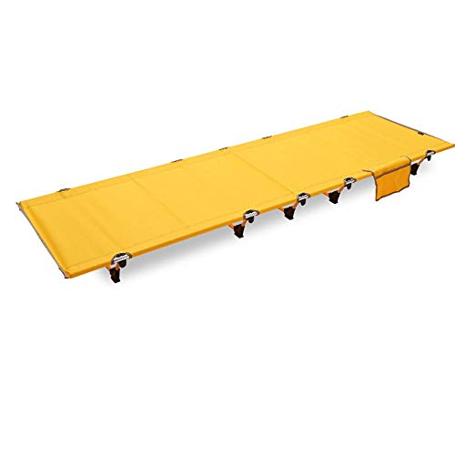 Folding Camping Cot, Compact With Carry Bag, Portable And Lightweight Bed For Adults Or Kids, Heavy Duty Simple Outdoor Travel
