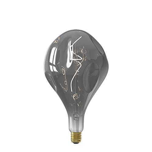 Calex XXL Organic EVO LED lamp 220-240V 6W 130lm E27 PS165, Titanium 2100K dimbaar