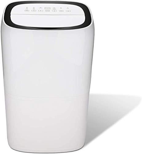 wolketon Deshumidificador de Aire Eléctrico hasta 26L/día Tamaño de 20~30 m², Deshumidificador de Secadora de Ropa silenciosa para el hogar Dormitorio Cocina Armario Oficina Baño