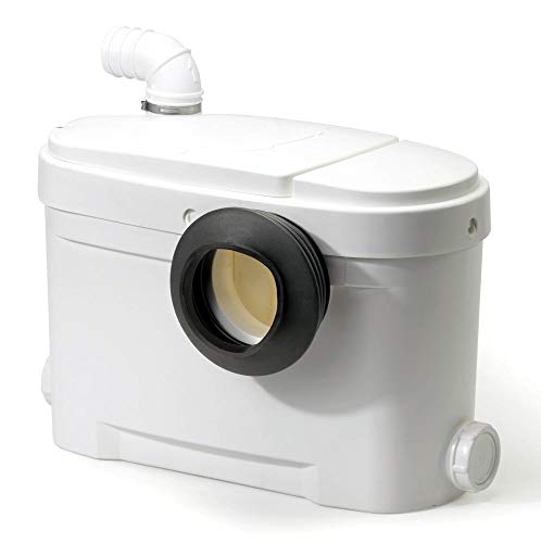 Setma Hebeanlage 500W Abwasserpumpe WC Kleinhebeanlage Fäkalienpumpe Aquamotor