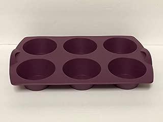 Tupperware Silicone Purple Muffin Pan