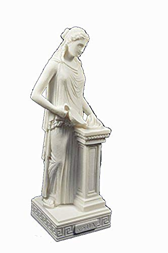 Estia Creations Hestia Skulptur, antike, griechische Göttin der Landwirtschaft