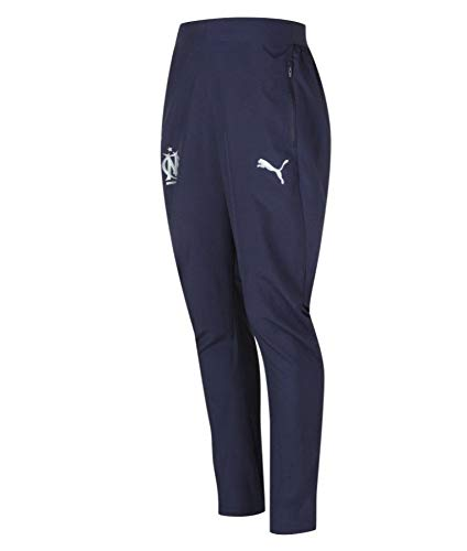Puma Om Training Pants 2018/19, Pantalon Sport, Bleu, M