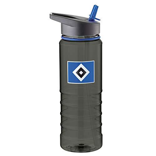 Hamburger SV HSV Flasche/Trinkflasche ** transparent schwarz ** 29772