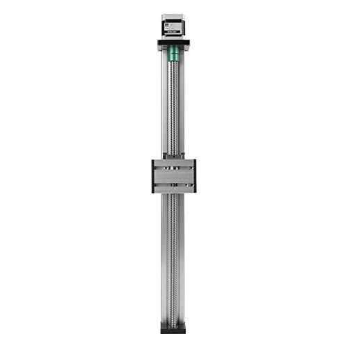 April Geschenk Kugelumlaufspindelschlitten mit Schrittmotor, Aluminium-Kugelumlaufspindel Linearer CNC-Schlitten Langtischantrieb Effektiver Hub 400 mm
