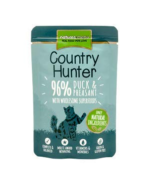 Natures Menu Country Hunter Cat Food Pouch Duck & Pheasant...