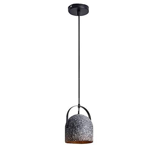 Led-plafondlamp van beton Retro van beton LOFT van smeedijzer, creatief licht voor creatief licht, glanzend graniet, warm licht binnenverlichting voor slaapkamer Soggiorn