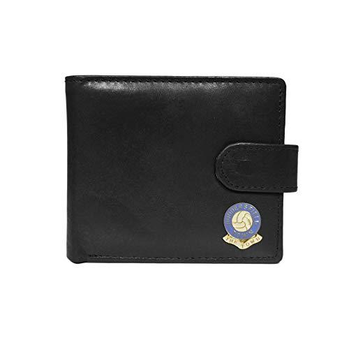 Huddersfield Town Football Club Black Leather Wallet