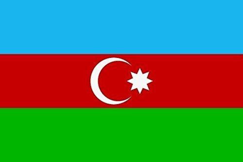 U24 Fahne Flagge Aserbaidschan 60 x 90 cm