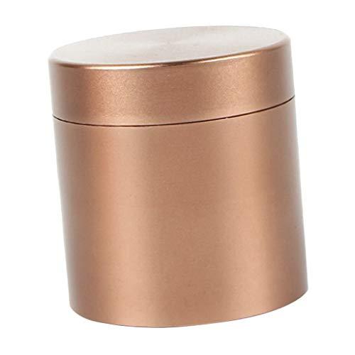 Fenteer 72ml Tasche Kaffeedose Teedose Rund Vorratsdose Metall Gewürzdose für Reise Outdoor Camping - Kaffee