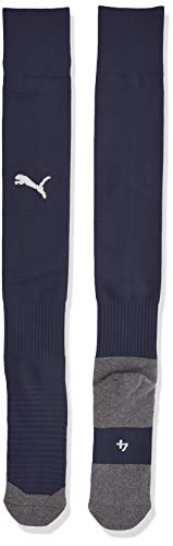 Puma Team Liga Socks Core, Calzettoni Calcio Unisex-Adulto, Blu (Peacoat/White), 3