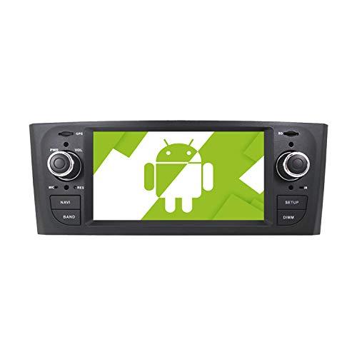 AOTSR Android 10.0 autoradio Stereo per Auto, per Fiat Grande Punto Linea 2005-2012, lettore DVD Multimediale schermo HD 1080P, DSP Carplay navigazione GPS Bluetooth WiFi SWC