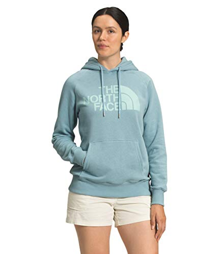 The North Face Women's Half Dome Pullover Hoodie, Tourmaline Blue, L