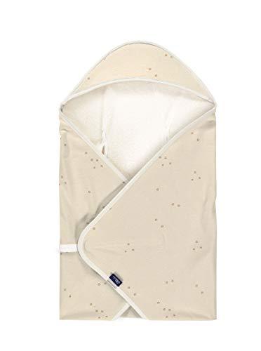 Alvi Baby Reisedecke light & Windel Blaubaer | Baby Einschlagdecke Babyschale Sommer | praktische Alternative zum Fußsack | Kinder Babydecke Baumwolle