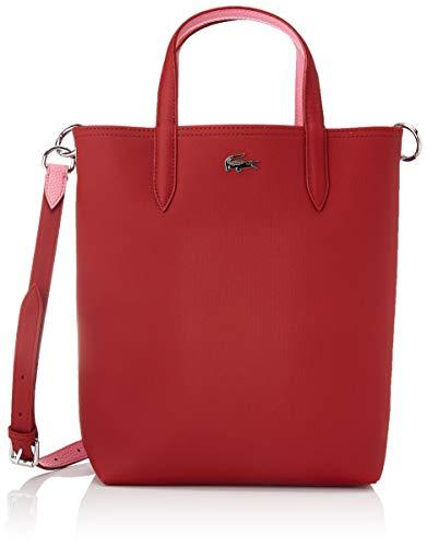 Lacoste Nf2991 - Bolsa para mujer, talla única, Rojo (Alizarine Chateau Rose), Talla única