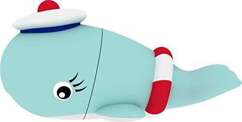 Emtec PenDrive 8GB, Whale, Multicolore