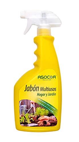 ASOCOA Jabón Potásico Multiusos 600 ml. Solución de Sales potásicas.