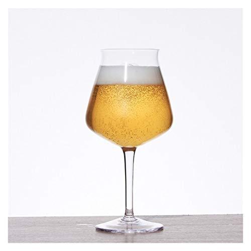BENGKUI WUWENJIE Copa de Cerveza de Copa Artesanal Copa de Vidrio de 400 ml 15 oz Red Wine Class Adecuado Home Bar Hotel Restaurante Restaurante Profesional Conjunto de Vino de Vidrio sin Plomo