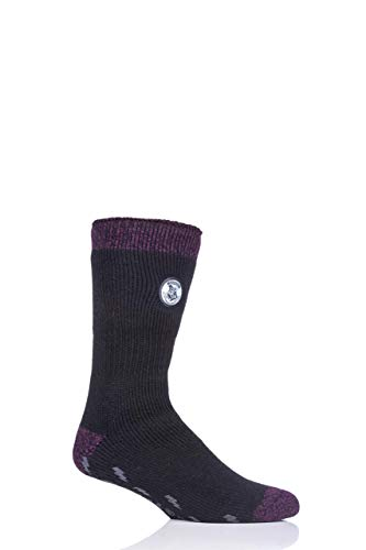 HEAT HOLDERS Herren Harry Potter Thermische Socken Rutschfeste Sohle Packung mit 1 Multi 39-45