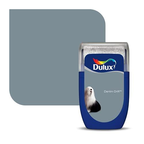 Dulux 5292994 Walls & Ceilings Tester Paint, Denim Drift, 30 Millilitres